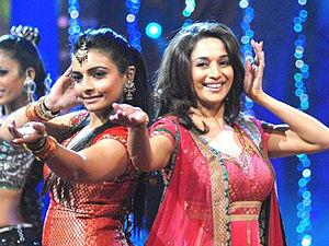 Vaibhavi Merchant - Merchant with Madhuri Dixit whom she choreographed in Aaja Nachle.