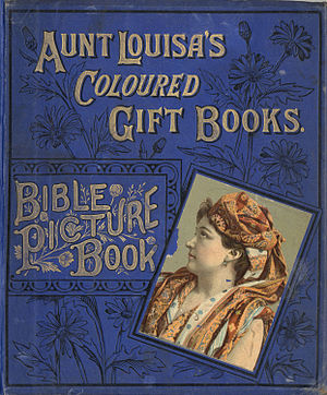 Aunt Louisa's Bible Picture Book - Book cover