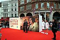 Valerie Faris and Jonathan Dayton on the red carpet at the Battle of the Sexes gala screening at the BFI London Film Festival 2017.jpg