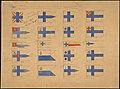 Valtion lippukomitean ehdotukset 1919.jpg