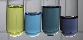 Vanadium(V) oxide - Image: Vanadium oxidation states