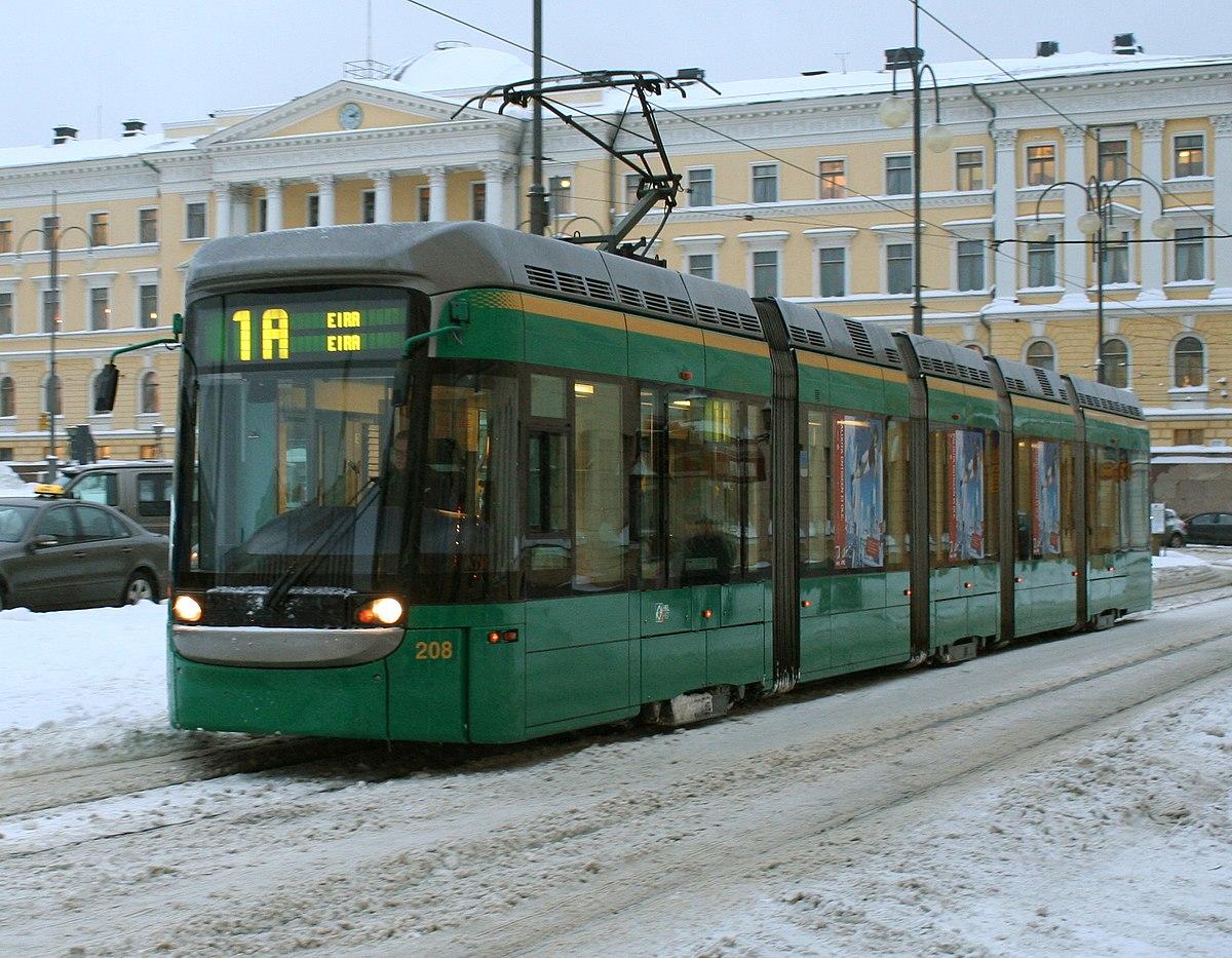 Helsinki tram network - Wikipedia
