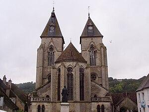 Varzy - The church in Varzy