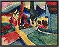 Vasily kandinsky, paesaggio con due pioppi, 1912.jpg