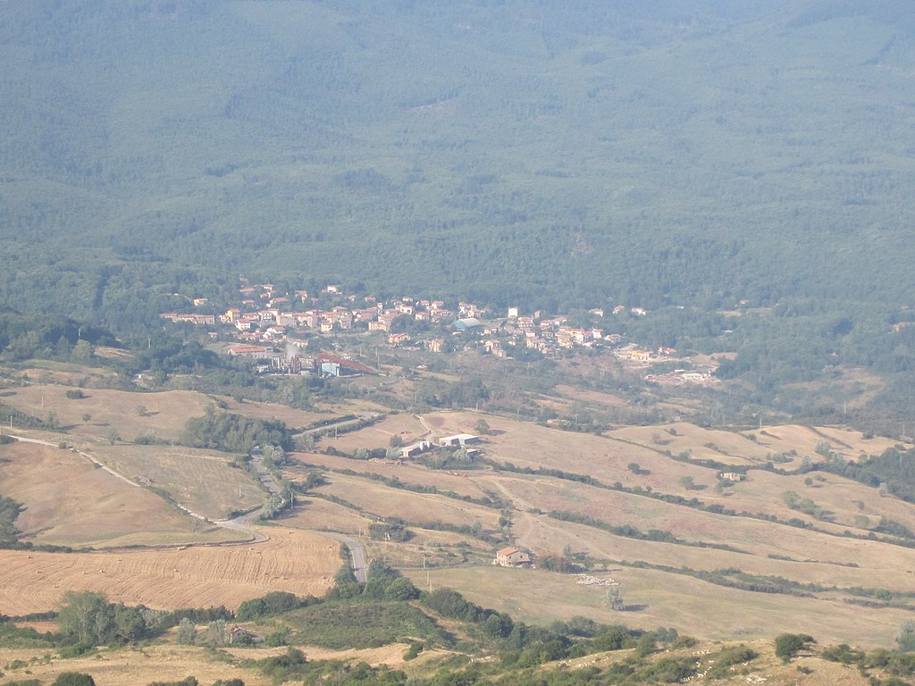 Veduta di Bagnore, Santa Fiora