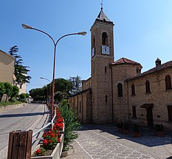 Church of Santi Cosa e Damiano.