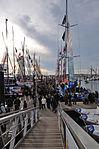 Vendée Globe 2012-2013 Ouverture du ponton au public.JPG