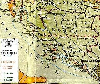 Italian irredentism in Dalmatia