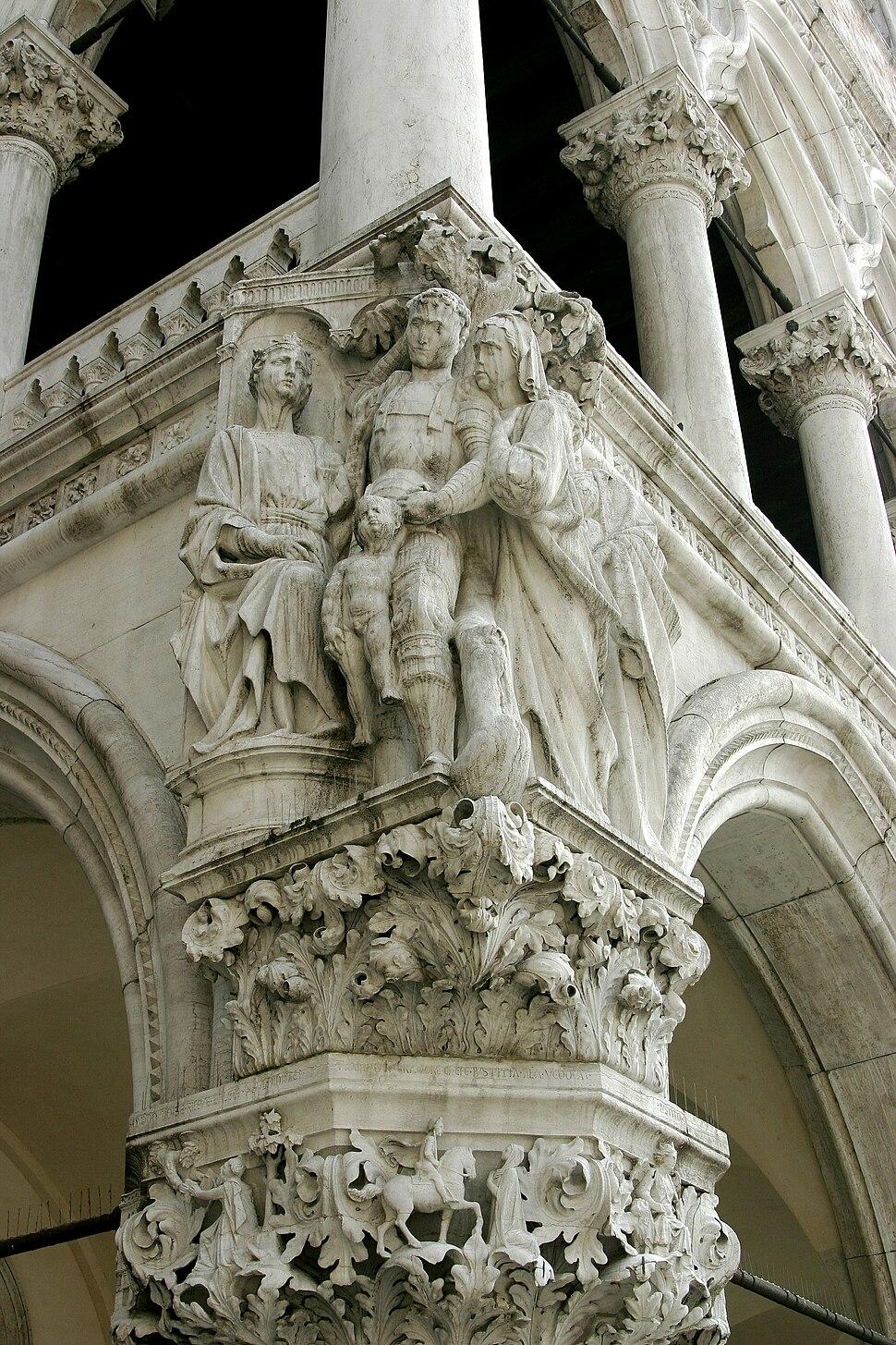 Venice – Doge's Palace – King Salomon verdict
