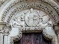 Verdun - Cathédrale Notre-Dame - Portail du Lion - Tympan.jpg