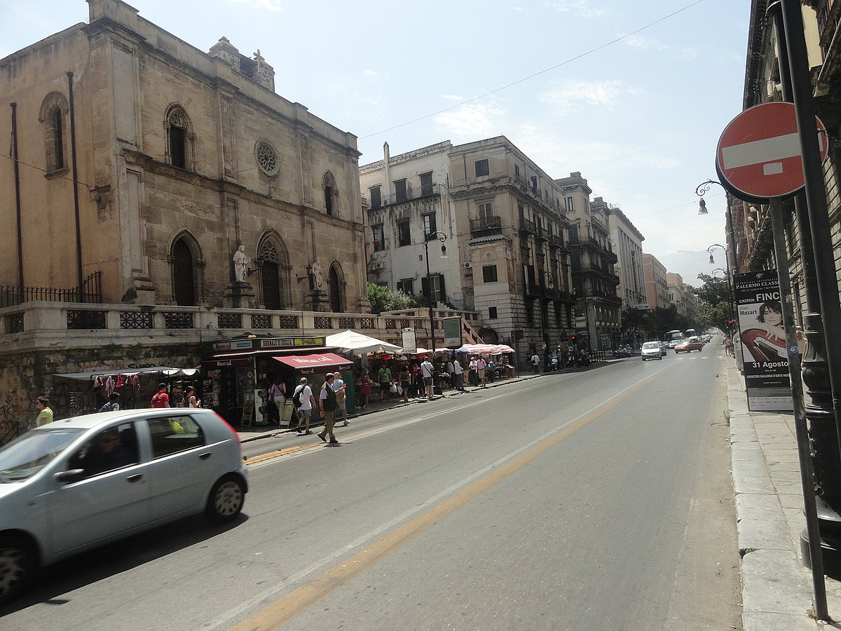Via Roma (Palermo) Wikipedia