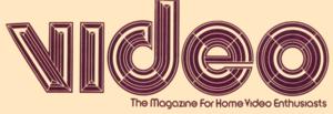 Video (magazine) - Image: Video magazine Cover 1978