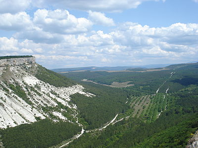 View from Çufut Qale 1.jpg