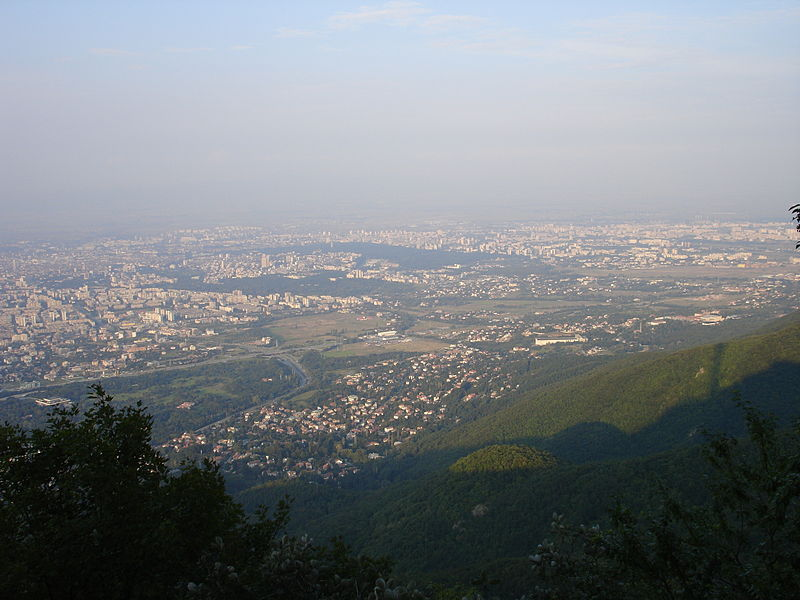 File:View from Vitosha Montain, Sofia 03375.jpg