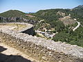 View from the circular tower of Corfu Angelokastro.jpg