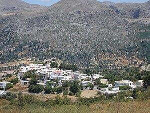 Aktounta - Image: View of Aktounta from Komatsoulia, Crete, Greece