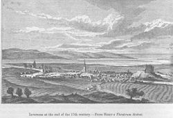 Inverness at the end of the 17th century