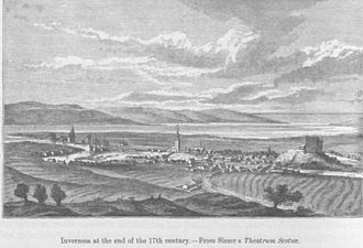 "Inverness - ""Prospectus Civitatis Innerness"", Inverness in 1693"