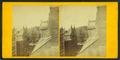 View of unidentified street from an upper window, from Robert N. Dennis collection of stereoscopic views.png