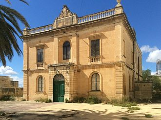 Masonic lodge - Villa Blye in Paola, Malta is a Masonic Temple where Lodges of the British and Irish freemasons meet