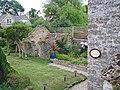 Village garden with stone ruin - geograph.org.uk - 905263.jpg