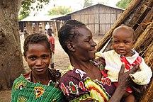 Mozambique-Démographie-Village life