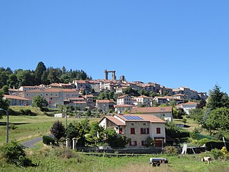 Allègre - A general view of Allègre