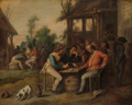 Vincent Malo - Card playing farmers at an inn.tiff