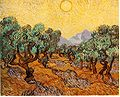 Vincent van Gogh - Olive Trees with Yellow Sky and Sun.jpg