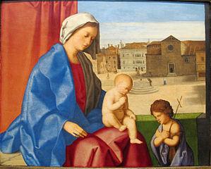 Vierge à l'Enfant avec Jean-Baptiste