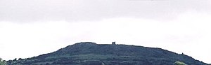 Enniscorthy - Vinegar Hill – view from Enniscorthy.