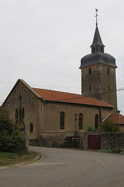 Église Saint-Clément de Vionville.