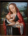 Virgin and Child, by Ambrosius Benson and perhaps workshop, Netherlandish, Bruges, c. 1495-1550, oil on panel - Wadsworth Atheneum - Hartford, CT - DSC05107.jpg