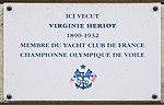 Virginie Hériot plaque - 54 rue de Varenne, Paris 7.jpg