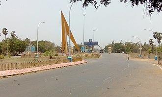 Visakhapatnam Steel Plant - Image: Visakha steel plant pylon