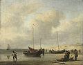 Vissersschepen aan het strand Rijksmuseum SK-C-247.jpeg