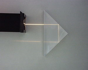 Ignazio Porro - Total internal reflection in Porro prism