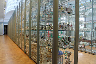 Collections management (museum) - The visual storage facilities at the Victoria and Albert Museum in London, England.