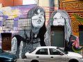 Vitoria - Canton de Santa Ana, mural 'Cubiertos de cielo y estrellas' 1.jpg
