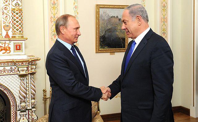Vladimir Putin and Benyamin Netanyahu (22-09-2015) 01, From WikimediaPhotos