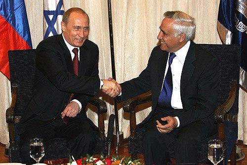 Vladimir Putin in Israel 27-29 April 2005-8