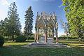 Vojenský hřbitov pruský a soubor pomníků v okolí obce (Chlum), v obci a v okolí 08.JPG