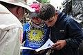 Volunteers distribute books in Dari, Pashtu (4530380429).jpg