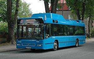 Västtrafik - A Västtrafik bus in Falköping.