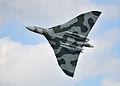 Vulcan bomber, 2009 Sunderland Airshow.jpg
