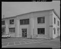 WEST ENTRANCE, SOUTHWEST CORNER - Torpedo Storehouse, Second and Dowell Streets, Keyport, Kitsap County, WA HABS WA-256-5.tif