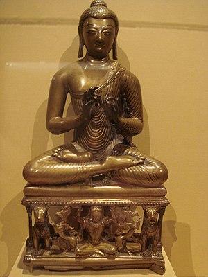 Buddhism in Kashmir - WLA lacma Buddha Shakyamuni or the Jina Buddha Vairochana Kashmir
