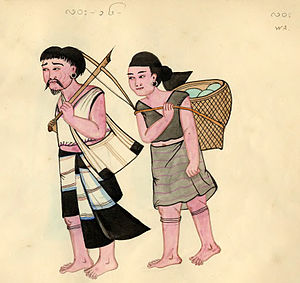 Wa people - An early Burmese depiction of Wa