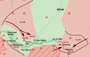 Wadi Barada pocket (15 Jan 2017)