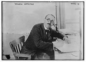 Wallace Notestein - Wallace Notestein in 1919